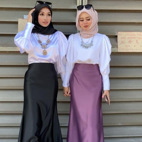 Adior Premium Dull Satin Mermaid Skirt